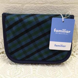 ファミリア(familiar)の♡新品 タグ付き♡ familiar 財布 ファミリア ウォレット チェック(財布)