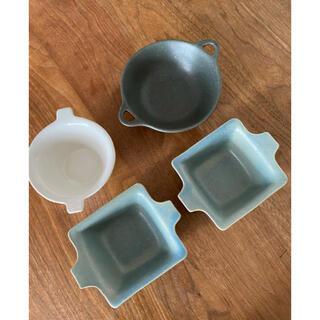 ミナペルホネン(mina perhonen)の益子焼 よしざわ窯 小鉢 4客(食器)