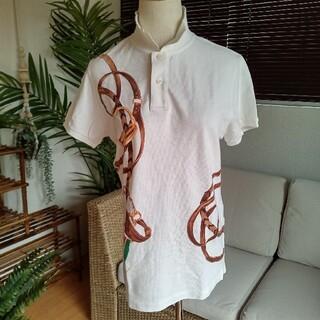 ラルフローレン(Ralph Lauren)の【4669R】ラルフローレン エクエストリアンプリント ポロシャツ(ポロシャツ)