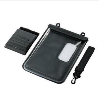 エレコム(ELECOM)の【未使用】防水ケース タブレットPC/iPad用(〜10.1インチ対応)(タブレット)