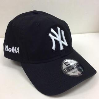 モマ(MOMA)のMOMA CAP BLACK モマキャップ NEWERA 9TWENTY(キャップ)