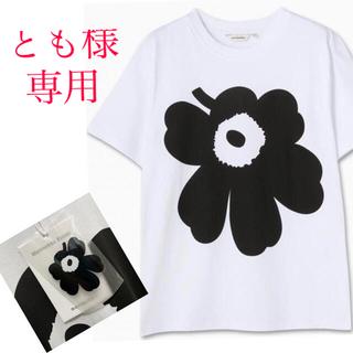 マリメッコ(marimekko)のとも様専用マリメッコウニッコ tシャツユニセックスMサイズ新品未使用(Tシャツ(半袖/袖なし))