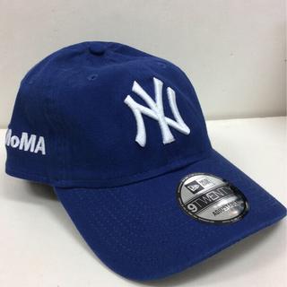 モマ(MOMA)のMOMA CAP ニューエラ 9TWENTY ブルー(キャップ)