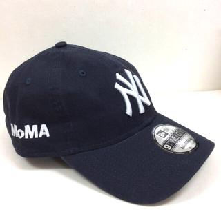 モマ(MOMA)のニューエラ キャップ ヤンキース ネイビー 新品正規品(キャップ)