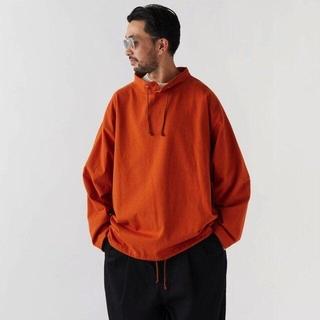 エフティーシー(FTC)のFAT BIGシルエット スタンドカラーカットソー(Tシャツ/カットソー(七分/長袖))