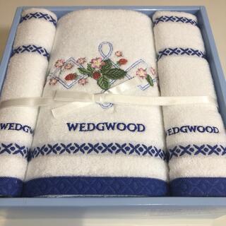 ウェッジウッド(WEDGWOOD)の梅様専用 ウェッジウッド バスタオル フィイスタオルセット(タオル/バス用品)
