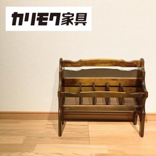 カリモクカグ(カリモク家具)のオールドカリモク スリッパラック(玄関収納)