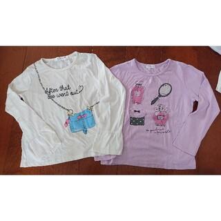 サンカンシオン(3can4on)の女の子長袖 二枚セット(Tシャツ/カットソー)
