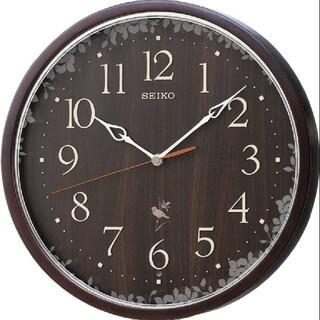 SEIKO - 新品未使用 保証付き掛時計 ナチュラルスタイル(野鳥報時)  RX215B