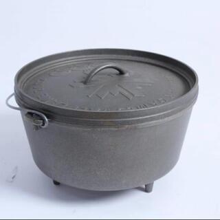 ロッジ(Lodge)のロッジ ダッチオーブン 12インチ ソルトレイク冬期五輪限定品(調理器具)