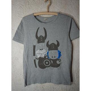 ドラッグストアーズ(drug store's)のo3600 ドラッグストアーズ 半袖 tシャツ バイキング プリント デザイン(Tシャツ/カットソー(半袖/袖なし))