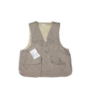 Engineered Garments - Engineered Garments Game Vest KHAKI  M