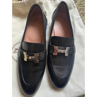 エルメス(Hermes)のHERMES エルメス モカシンパリ(ローファー/革靴)