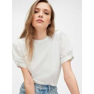 ギャップ(GAP)のギャップ パフスリーブTシャツ(Tシャツ(半袖/袖なし))