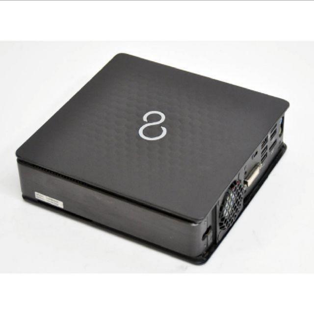富士通(フジツウ)の【ジャンク】FUJITSU Q520/J Corei3 スマホ/家電/カメラのPC/タブレット(デスクトップ型PC)の商品写真