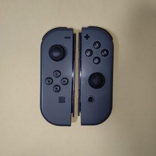 ニンテンドースイッチ(Nintendo Switch)の純正 Joy-Con  L R グレー ジョイコンのみ Switch(その他)