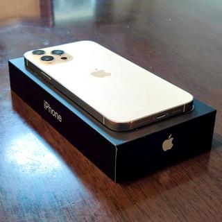 アイフォーン(iPhone)のiPhone 12 Pro Max SIMフリー 128GB シルバー(スマートフォン本体)
