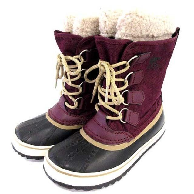SOREL(ソレル)のソレル SOREL ウィンターカーニバル スノーブーツ 23cm 紫 パープル レディースの靴/シューズ(ブーツ)の商品写真