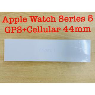 Apple - Apple Watch Series 5 GPS+Cellular 44mm