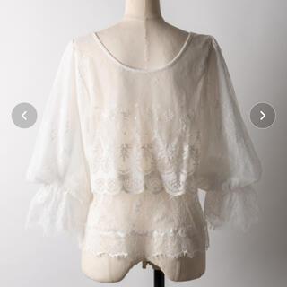 ラベルエチュード(la belle Etude)のブラウス(シャツ/ブラウス(半袖/袖なし))
