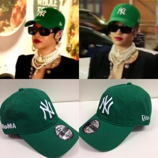 モマ(MOMA)のMOMA CAP ケリーグリーン モマキャップ 正規品(キャップ)