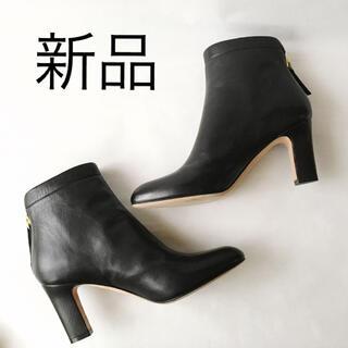 ペリーコ(PELLICO)の【新品】PELLICO  バックジップショートブーツ◇38 24.5cmペリーコ(ブーツ)