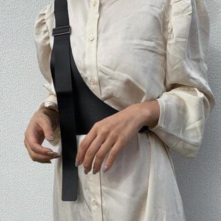 アメリヴィンテージ(Ameri VINTAGE)のOneshoulder harness belt BLACK No.690(ベルト)