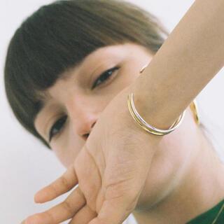 ナノユニバース(nano・universe)のSimple line gold bangle No.692(ブレスレット/バングル)