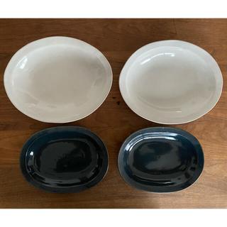 ミナペルホネン(mina perhonen)の★リリー様専用★よしざわ窯オーバル皿&かりん小鉢4客(食器)