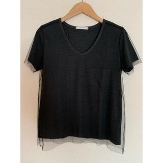 ドゥーズィエムクラス(DEUXIEME CLASSE)のREKISAMI レキサミ チュール Tシャツ カットソー(カットソー(半袖/袖なし))