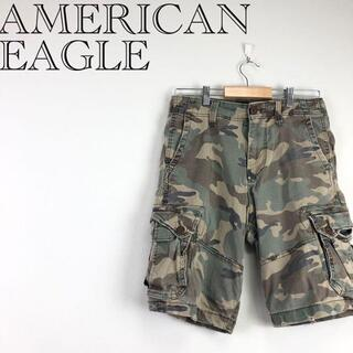アメリカンイーグル(American Eagle)の【送料無料❗️】アメリカンイーグル カーゴパンツ メンズ レディース(ショートパンツ)