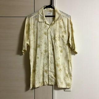 ランバン(LANVIN)のLanvin 花柄 オープンカラーシャツ(シャツ)