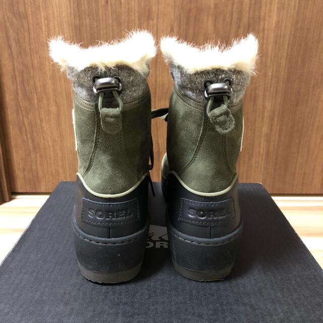 SOREL(ソレル)の【美品・一回のみ使用】ソレル スノーブーツ ティボリ 25cm レディースの靴/シューズ(ブーツ)の商品写真
