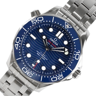 オメガ(OMEGA)のオメガ OMEGA シーマスター300 腕時計 メンズ【中古】(その他)