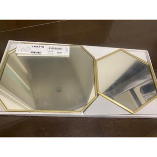 イケア(IKEA)のIKEA 壁掛け 鏡 卓上 ミラー(壁掛けミラー)