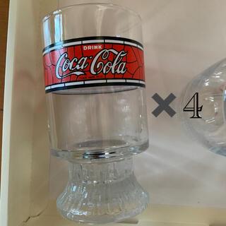 コカコーラ(コカ・コーラ)のコカコーラ グラス 昭和レトロ(グラス/カップ)