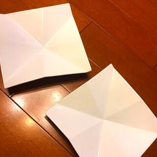 NARUMI - スクエアトレイ 白角皿 新品 2枚 ラ ブティック ドゥ ジョエル・ロブション