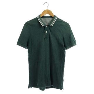 ブルネロクチネリ(BRUNELLO CUCINELLI)のブルネロクチネリ BRUNELLO CUCINELLI S スモークグリーン(ポロシャツ)