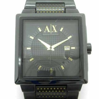 アルマーニエクスチェンジ(ARMANI EXCHANGE)のアルマーニエクスチェンジ 腕時計 クォーツ アナログ 黒  AX2066(腕時計(アナログ))