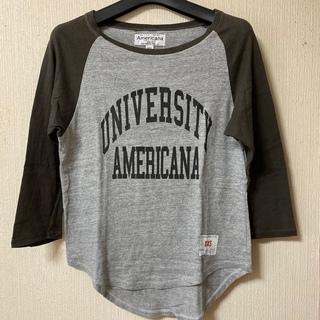 アメリカーナ(AMERICANA)のAmericana アメリカーナ ラグラン Tシャツ(Tシャツ(長袖/七分))