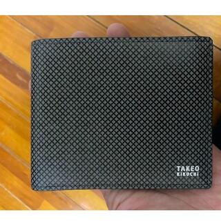 TAKEO KIKUCHI - タケオキクチ 二つ折り財布