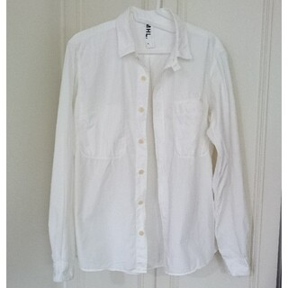 マーガレットハウエル(MARGARET HOWELL)のマーガレット ハウエル 白シャツ Mサイズ MHL(シャツ)
