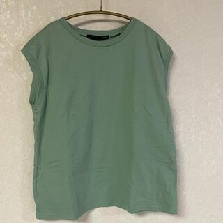ヘザー(heather)のHeather ノースリーブtシャツ (Tシャツ(半袖/袖なし))