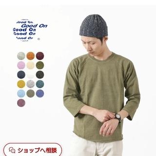 Good   On 七分袖ラグランTシャツ  深めのオレンジカラー(Tシャツ/カットソー(七分/長袖))