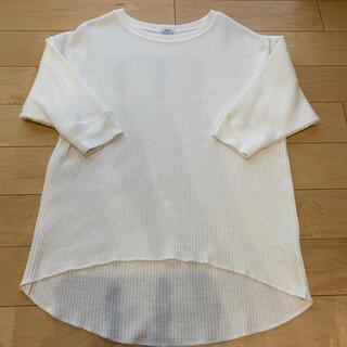 coen - 【お値下げ】coen コーエン ワッフルTシャツ 七分袖