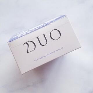 【新品】DUO クレンジングバーム ホワイト(クレンジング/メイク落とし)