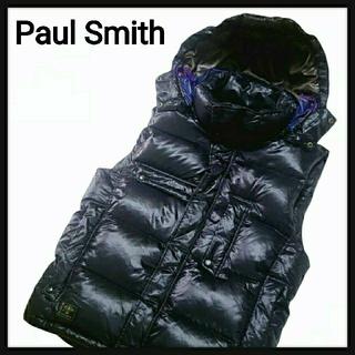 ポールスミス(Paul Smith)の【美品・高級】Paul Smith ポールスミス ダウンベスト ◎軽くて暖かい!(ダウンベスト)