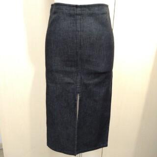 グッチ(Gucci)のGUCCI デニムスカート タイトスカート サイズ38(ひざ丈スカート)