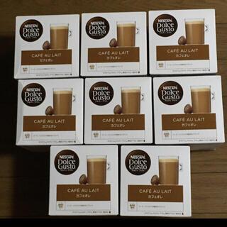 Nestle - ネスレ ドルチェグスト 専用カプセル カフェオレ 16杯×8箱分