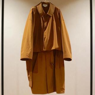 サンシー(SUNSEA)の19ss YOKE tokyo 3WAY SHARE COAT シェアコート(ステンカラーコート)